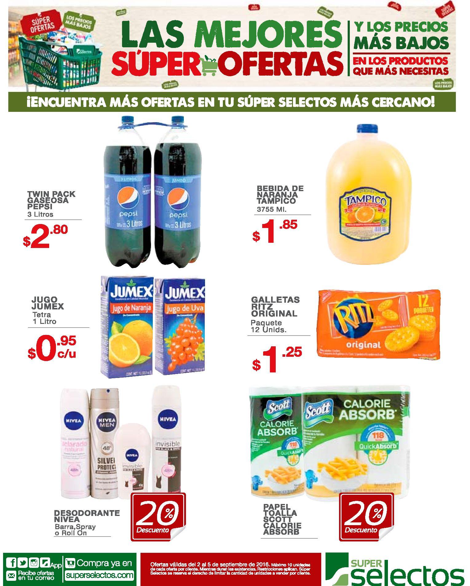 JUGOS Y GASEOSAS con precios en oferta - Ofertas Ahora