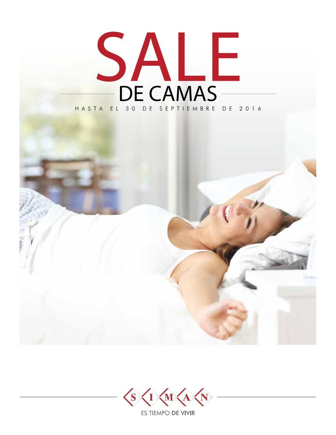 Sale de camas septiembre 2016 siman el salvador ofertas for Ofertas de camas