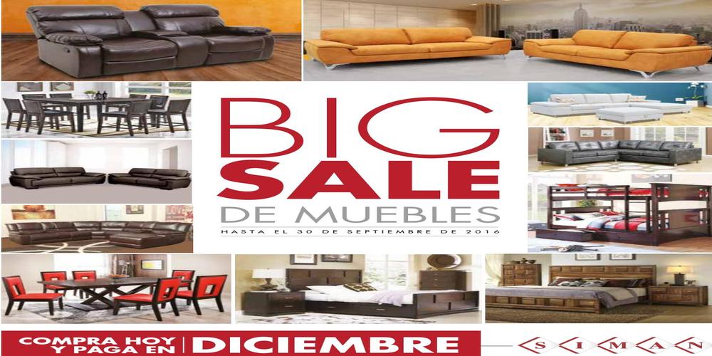 Big sale ofertas de muebles en almacenes siman septiembre for Muebles de oficina ahora 12
