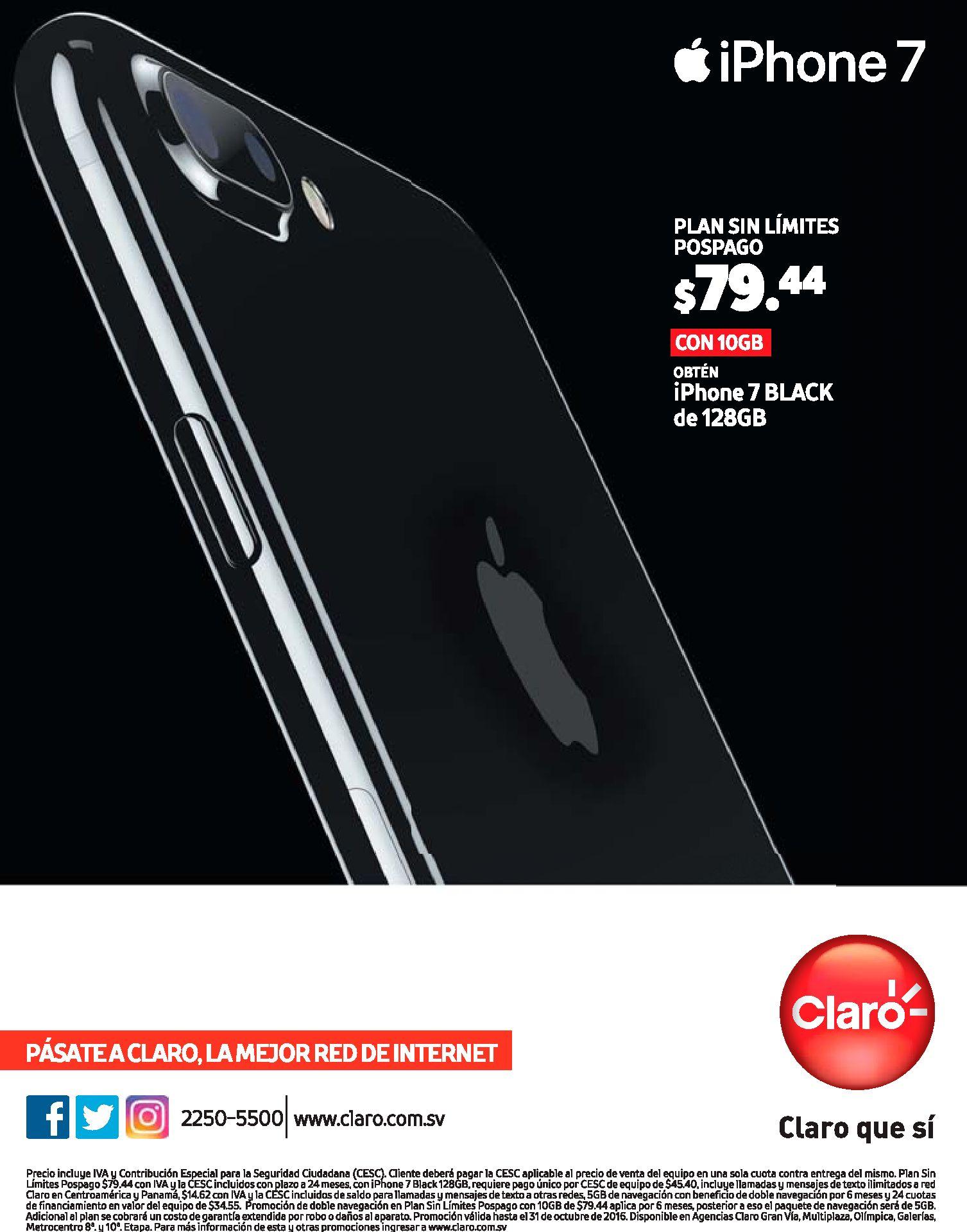 Cuanto vale el plan con un telefono iphone7 claro - Cuanto cuesta el pladur ...