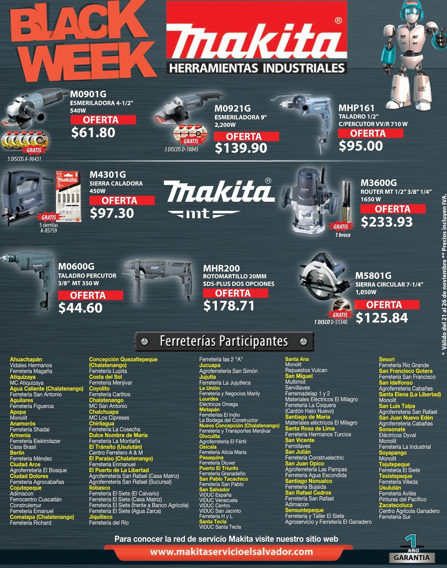 Black week 2016 en herramientas electricas ofertas ahora - Black friday herramientas electricas ...