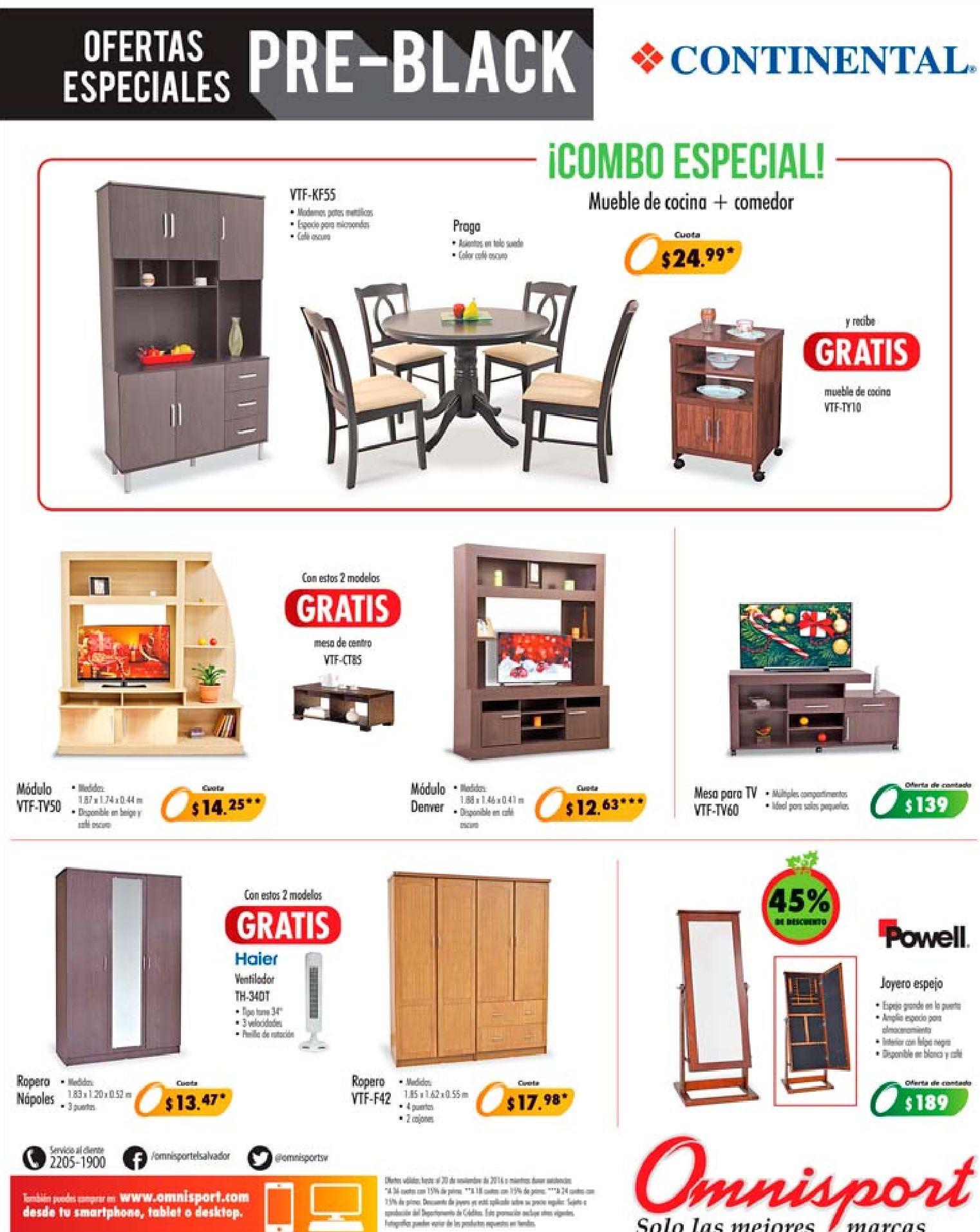 Muebles para tu casa con la venta pre black friday 2016 for Black friday muebles