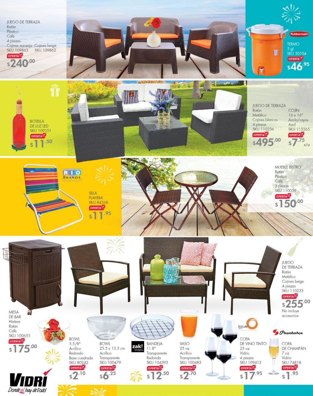 Promociones vidri muebles de jardin y terraza ofertas ahora for Ofertas muebles de terraza