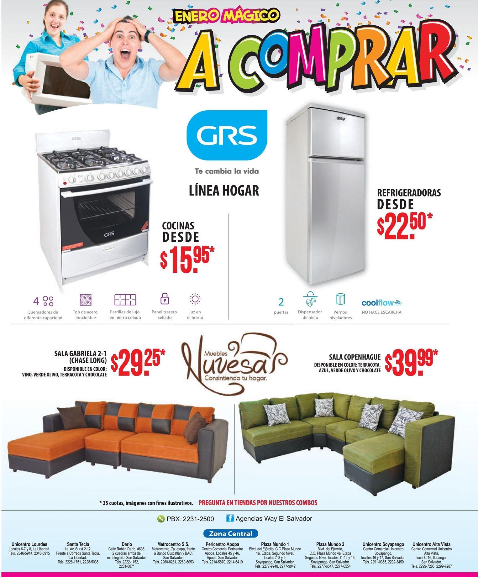 Compras de muebles y electrodomesticos en way 2017 for Compra de muebles