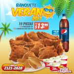 Pollo campestre promociones BANQUETE de verano 2017