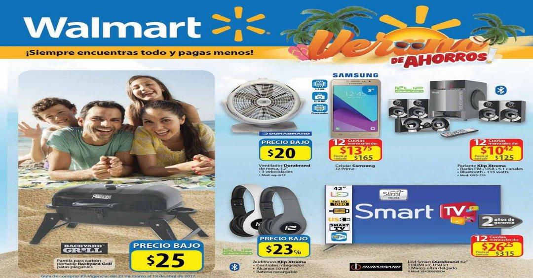 WALMART catalogo de promociones SEMANA SANTA 2017