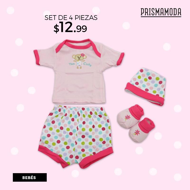 Set de 4 piezas para bebes ofertas ahora for Piezas para bebes