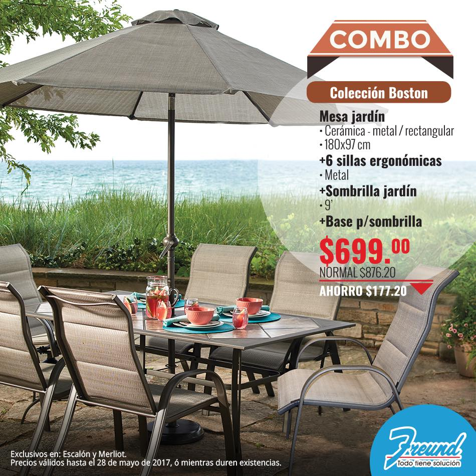 Mesas de jardin lista para instalar en tu terraza mama for Ofertas mesas jardin