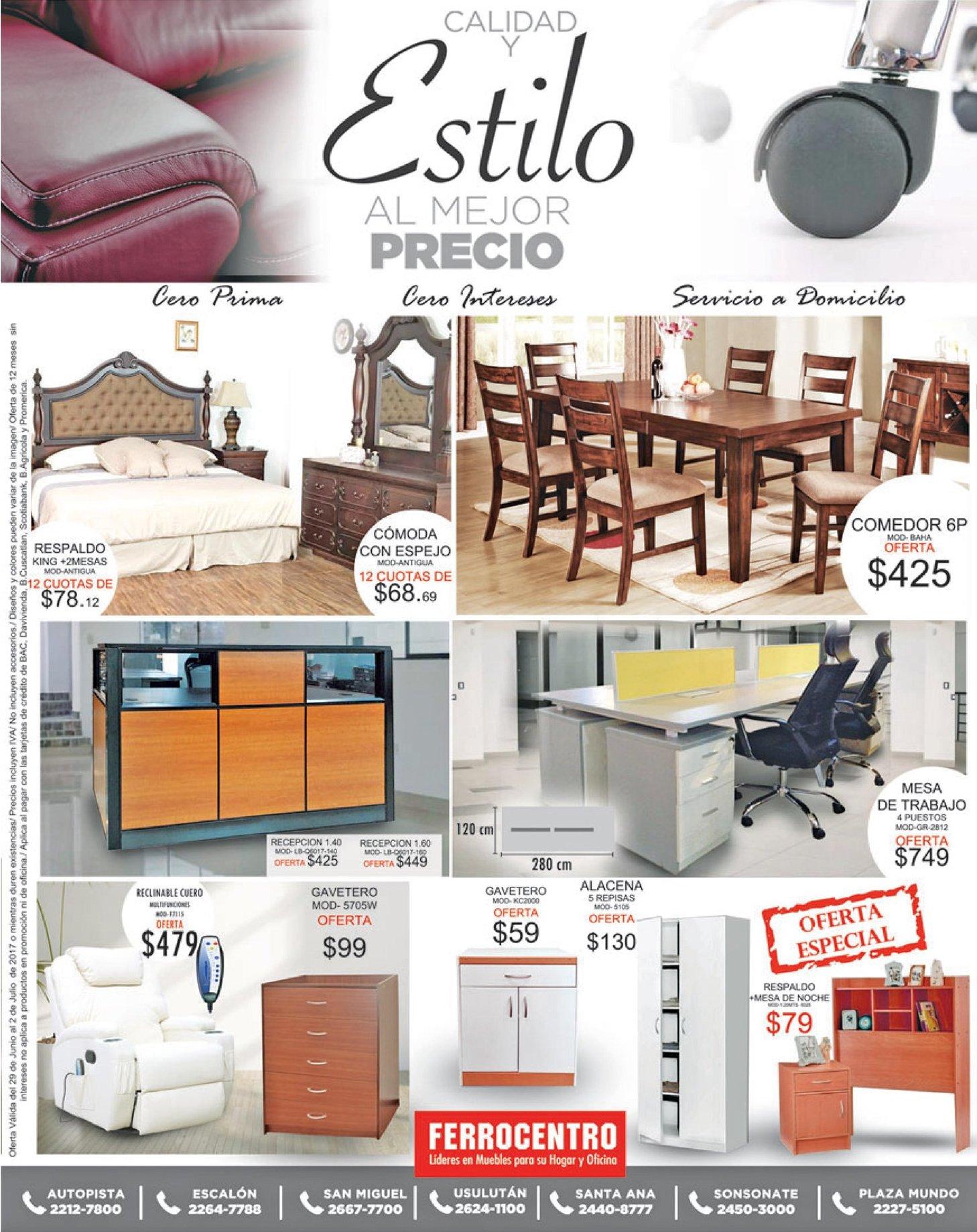 Calidad y estilo en muebles de lujos ferrrocnetro for Muebles de calidad
