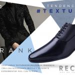Los zapatos de negros de papa para ir a la oficina