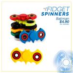SIMAN juguetes FIDGET spinner BATMAN averger