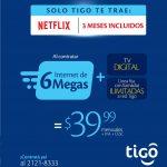 TIGO Promocion de internet 6MB y clable digital por solo 39_99 mas iva y CESC