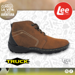 TRUCK boot brown leather LEE SHOES sv