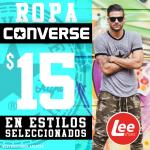 tshirts MARCA CONVERSE DESDE 15 DOLARES