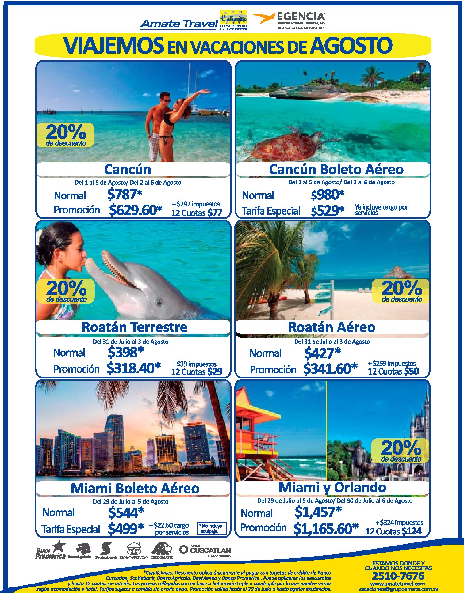 Paquetes de vacaciones agosto 2017 playa ciudad
