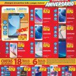 SMART PHONES WOW promociones de aniversario WALMART - 14jul17
