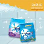 detergente en polvo XEDEX