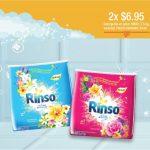 detergente en polvo rinso promocion 2x
