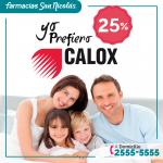 Descuento en productos CALOX en farmacias san nicolas
