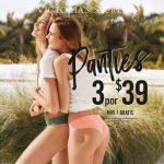 Promociones de PANTIES victorias secret en centro comercial multiplaza