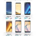 CAIDA de precios en telefonos de gama alta y media samsung