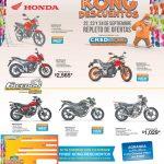 DESCUENTOS en motos de alamcenes tropigas - 22sep17