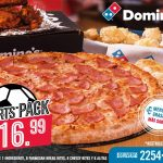 Dominos pizza sv COMBO sports pack