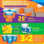 Pinturas comex promocion 3x2 en este mes de septiembre 2017