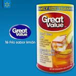 WALMART iced tea mix GREAT value