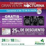 Banco promerica promociones especial en venta nocturna del officedepot