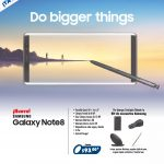 Do bigger thing Galaxy note8 by SAMSUNG