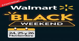 Continua el Black Weekend 2017 walmart