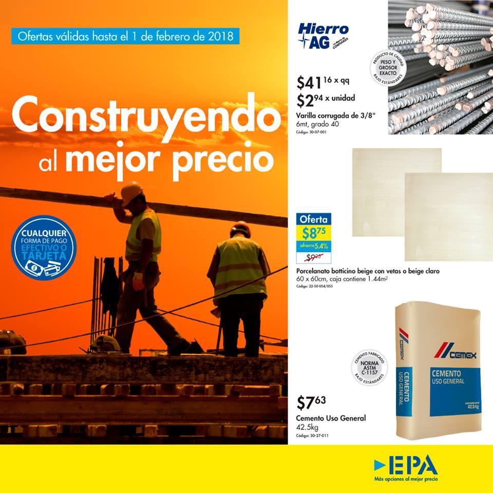 Catalogo EPA produtos y materiales de construccion 2018
