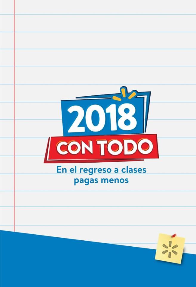 Guia de ofertas walmart el regreos a clases 2018 pagando menos