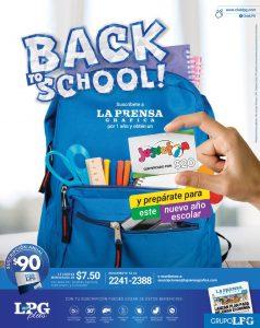 Promociones BACK to school 2018 de la prensa grafica y jugueton