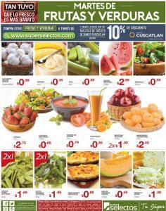 Frutas y verduras de ahora martes 13feb18