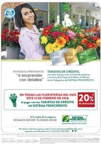 Si ellas quieren flores mira como pagar con 20 OFF