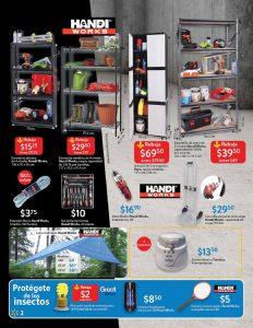 WALMART promociones para el hogar y organizar tus herramientas