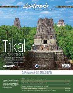 Caravanas de segridad para viajar a El tIKAL