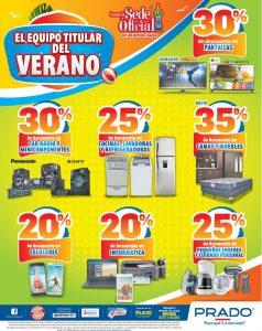 Descuentos en electrodomesticos de almacenes PRADO - 09mar18