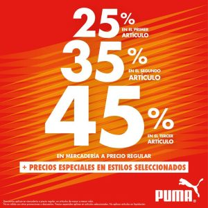 Multiplaza Shopping Night 16 Marzo - PUMA shoes sv