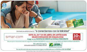 promociones con tu tarjeta fedecredico para SIMAN