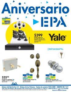 SEGURIDAD fisica y digital en tu casa gracias ferreteria EPA