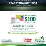 promociones y beneficios banco promerica en office depot
