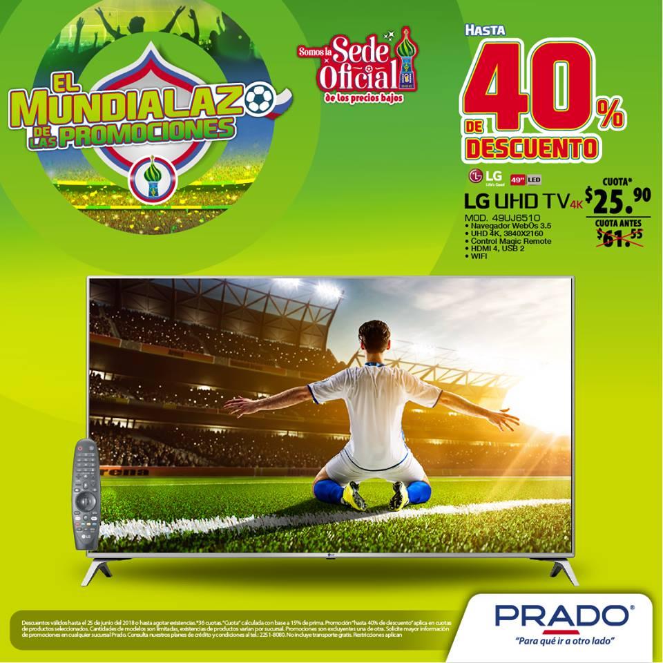 Televisor LG de 55 pulgadas y definicion 4K