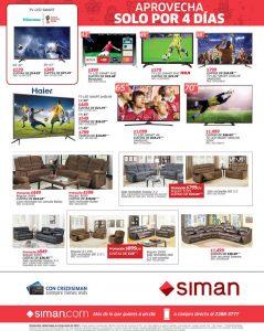 Televisores HISENSE disponible en almacenes siman sv