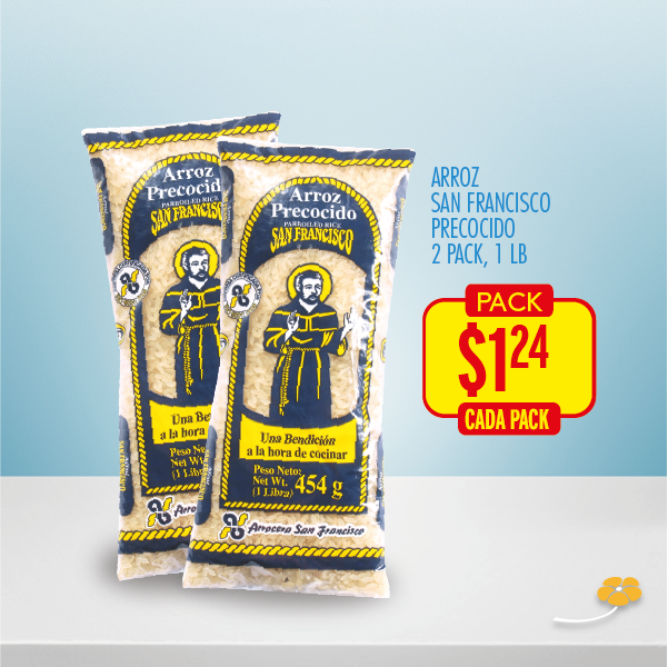 arroz san francisco two pack ofertas de la despensa