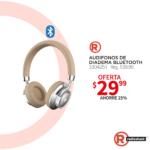 Radioshack ofertas en audifonos de diadema BLUETOOTH